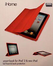 *iHome by Lifeworks Technology Smart Book Flap Case iPad 2 New iPad IH-IP1103G