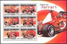 Gibraltar 2004 FERRARI/Racing/Cars/GP/F1/Grand Prix/Transport 6v sht (n13548)