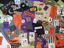Halloween Mixed Media Kit Junk Journal Scrapbook Ephemera Embellishments