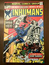 INHUMANS #2 George Perez (1975) CLASSIC BRONZE AGE!