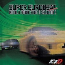 0735 INITIAL D Super Eurobeat Music CD SOUNDTRACK Fourth Stage Selection Vol 3