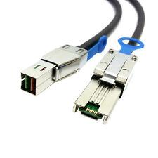 External Mini SAS 4X SFF-8088 to Mini SAS High Density HD SFF-8644  Cable 50cm