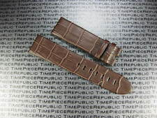 New Brown 22mm Genuine Leather Strap Timewalker Style Band MONT BLANC MONTBLANC