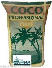 Sustrato COCO CANNA Profesional PLUS 50 Litros , Fibra de coco, TIERRA 50L, Grow