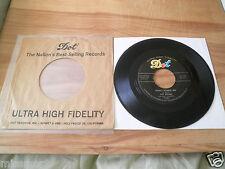 1956 Pat Boone Dot 45 Record 15521 VG+ Don't Forbid Me Anastasia CLEAN!