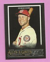 2020 Topps Allen & Ginter X Carter Kieboom #169 Washington Nationals