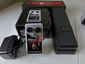 Electro-Harmonix Pitch Fork pedal with expression pedal