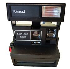 Vintage Polaroid One Step 600 Flash Instant Film Camera Tested