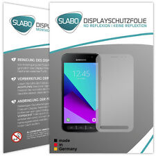 Slabo Displayschutzfolie für Samsung Galaxy Xcover 4 (2er Set) MATT No Reflexion