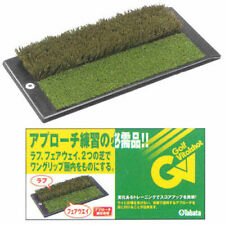 New Golf Approach Training Mat 2Way Tabata Practice Rough And Fairway Goods