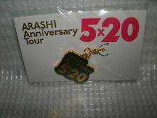 New ARASHI idol Anniversary Tour 5 x 20 Charm Blue Official goods F/S japan