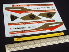 *1970s Vintage Aurora #379 Boeing 747 Continental Airliner Decal (No Kit) Unused