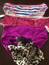 Victoria's Secret Lot of 4 New VS Brand New w/ Tags Underwear Large