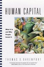 Human Capital: What It Is and Why People Invest It (Jossey-Bass Business & Manag