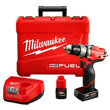 Milwaukee 2404-22 M12 FUEL 12-Volt 1/2-Inch Hammer Drill/Driver w/ Batteries