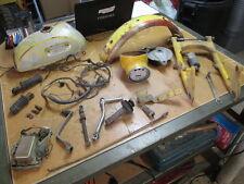Yamaha 1967 YL2 Gas Tank Front Fender Brake Hub Speedometer Swingarm Parts Lot