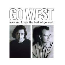The Very Best Of Go West 45x45mm CD#38 Keyring Go West Album