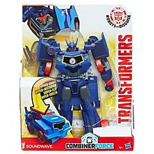 Transformers Robots in Disguise 20cm 3-Step Changers SOUNDWAVE Figure by Hasbro