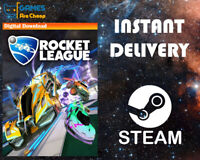 Rocket League Steam PC - Region Free - Not a Key 🔥🔥🔥 [Instant Email Delivery]