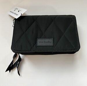 New Vera Bradley Ultralight RFID 3 in 1 Crossbody Bag Purse Black 27129-481