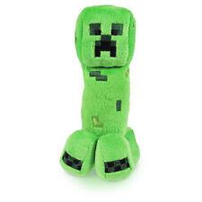 "Minecraft Happy Explorer Creeper Plush Stuffed Toy (Green, 7"" Tall)"