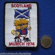 Scotland World Cup Cloth Badge/Patch   Munich  1974