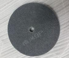 "8""Dia 1""Thick  9P 320# Grit Dark Gray Nylon Polishing Wheel Disc Pad New"