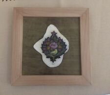 Handmade Persian Painting Caligrapgy On Stone Framed