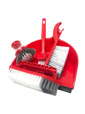 NEW  Set 5 Piece Household Cleaning Supplies:dustpan Muntifuntional brush HOME