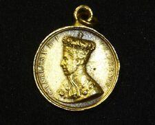 Charles X Sacre à Reims Le 28 mai 1825 Coronation Golden Bronze Medal Coin