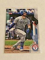 2020 Topps Baseball UK Edition Base Card - Joey Gallo - Texas Rangers