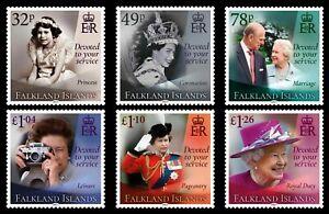 FALKLAND ISLANDS  2021, QUEEN ELIZABETH II 95TH BIRTHDAY, 6v., MNH