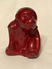 Hard to Find Royal Doulton Flambe Monkey Designed By Bernard Moore