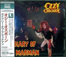OZZY OSBOURNE RANDY RHOADS DIARY OF A MADMAN CD - JAPAN 2013 RMST Blu-Spec CD2