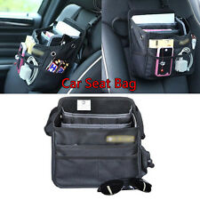 A Black Multi-function Car Seat Bag Shoulder Handbag Organize Storage Bag Travel