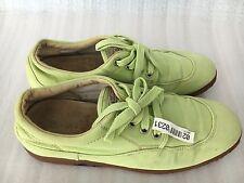 Woman Hogan Comfort apple green color Canvas Sneaker size 7.5