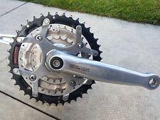Shimano Deore LX M569 Triple pedalier & Soporte inferior en muy buena condición