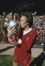 PHIL NEAL LIVERPOOL FC LEGEND AUTHENTIC HAND SIGNED 12 X 8 INCH WITH COA