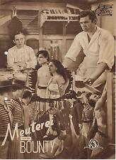 MEUTEREI AUF DER BOUNTY (DNF) - CHARLES LAUGHTON / CLARK GABLE