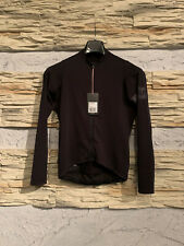 Rapha Pro Team Long Sleeve Midweight Jersey Black MEDIUM