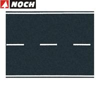 NOCH H0 60700 Bundesstraße Asphalt, 100 x 8 cm (1 m² - 84,88 €) - NEU + OVP