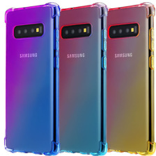 Samsung Galaxy S10, S10 Plus, S10e Silicone Colorfully Shockproof TPU Cover Case