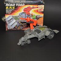 GI JOE ARAH Road Toad B.R.V. COMPLETE w/ Box Vintage 1987 Hasbro
