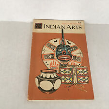 vintage PB book North American Indian Arts golden science guide illustrated