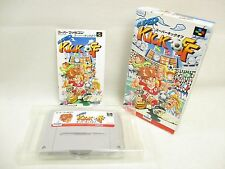 SUPER KICK OFF Item ref/bcb Super Famicom Nintendo Japan Game sf