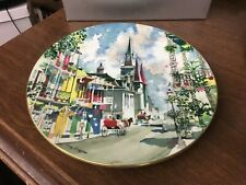"Royal Doulton French Quarter By Dong Kingman Ltd Ed.10-3/8"" Collector's Plate"