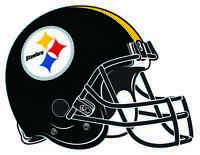 PITTSBURGH STEELERS HELMET Vinyl Decal / Sticker ** 5 Sizes **