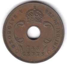 East Africa 10 Cent 1933