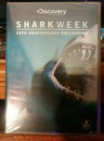 Discovery Shark Week: 20th Anniversary Collection (DVD, 4-Disc Set) NEW & SEALED