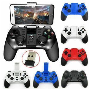 Handy Controller für Android/PC/PS3/TV Wireless Bluetooth Vibration Joystick DE